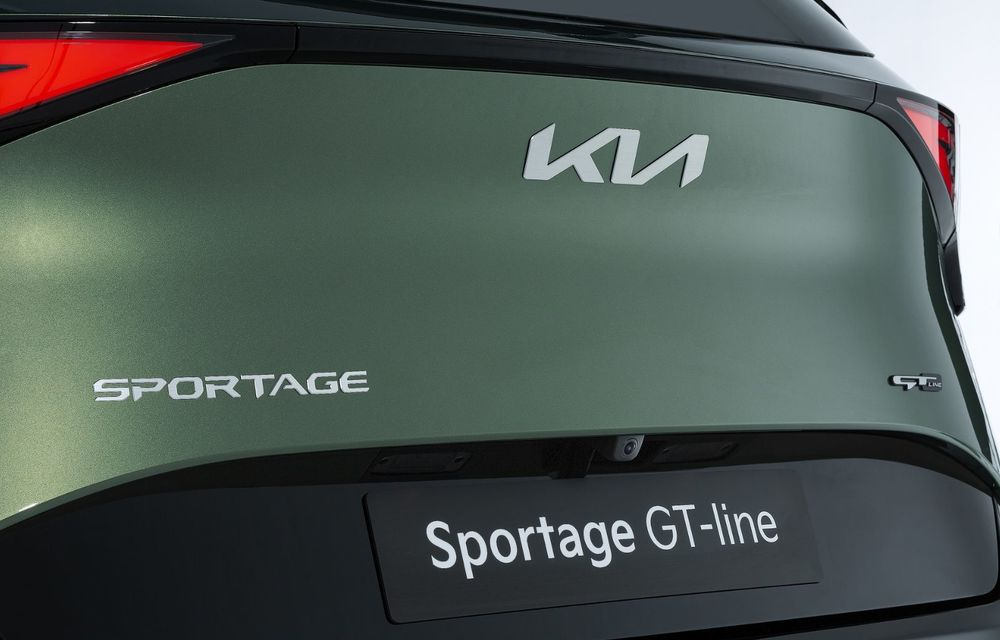 OFICIAL: Noul Kia Sportage pentru Europa debutează cu motorizări hibrid, PHEV și diesel - Poza 15