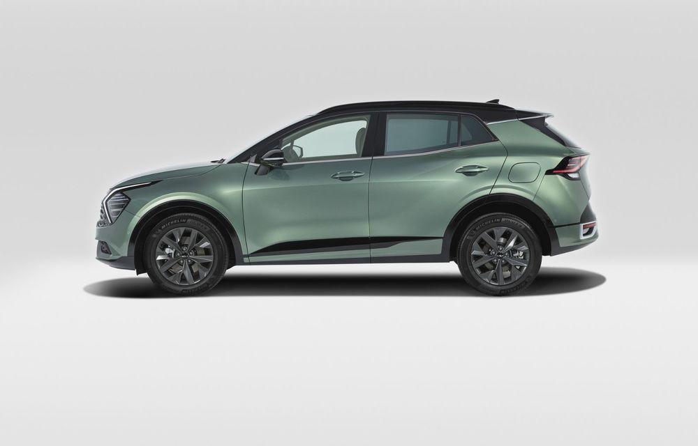 OFICIAL: Noul Kia Sportage pentru Europa debutează cu motorizări hibrid, PHEV și diesel - Poza 3