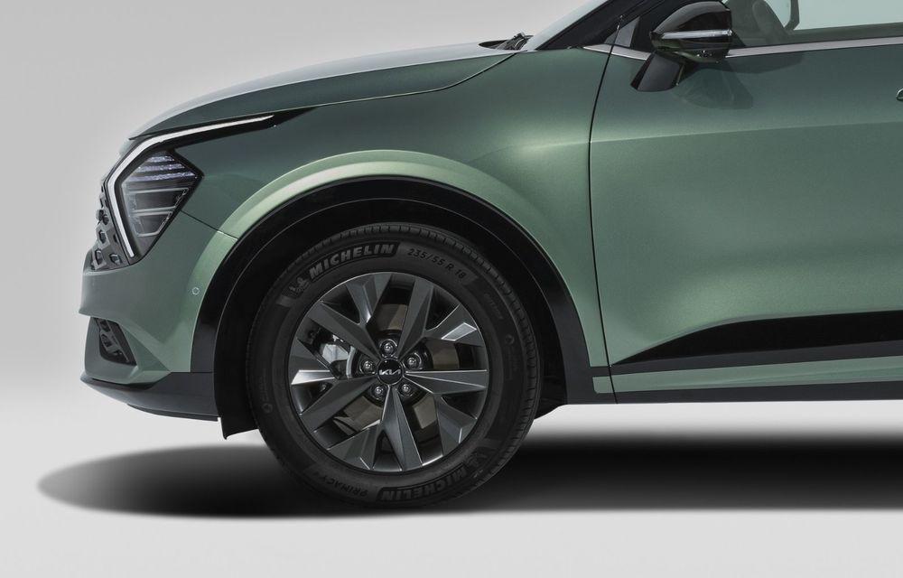 OFICIAL: Noul Kia Sportage pentru Europa debutează cu motorizări hibrid, PHEV și diesel - Poza 16