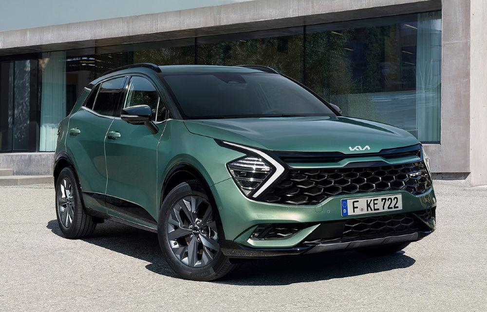 OFICIAL: Noul Kia Sportage pentru Europa debutează cu motorizări hibrid, PHEV și diesel - Poza 1