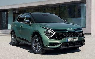 OFICIAL: Noul Kia Sportage pentru Europa debutează cu motorizări hibrid, PHEV și diesel