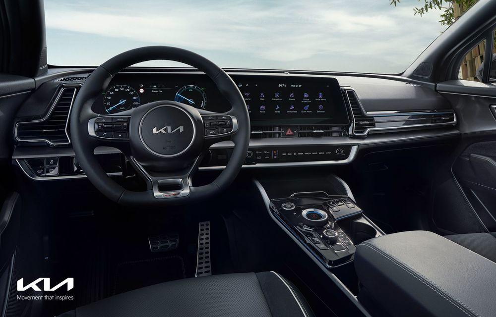 OFICIAL: Noul Kia Sportage pentru Europa debutează cu motorizări hibrid, PHEV și diesel - Poza 4