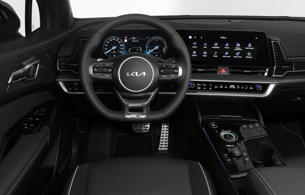 OFICIAL: Noul Kia Sportage pentru Europa debutează cu motorizări hibrid, PHEV și diesel - Poza 5