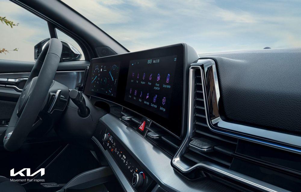 OFICIAL: Noul Kia Sportage pentru Europa debutează cu motorizări hibrid, PHEV și diesel - Poza 8