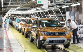 Activitatea uzinei Dacia de la Mioveni va fi din nou întreruptă, din cauza crizei de semiconductori