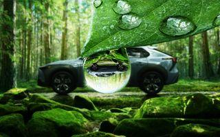 Imagini teaser cu viitorul Subaru Solterra, primul model electric al companiei