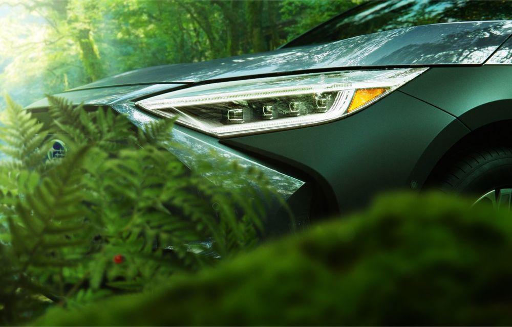 Imagini teaser cu viitorul Subaru Solterra, primul model electric al companiei - Poza 5