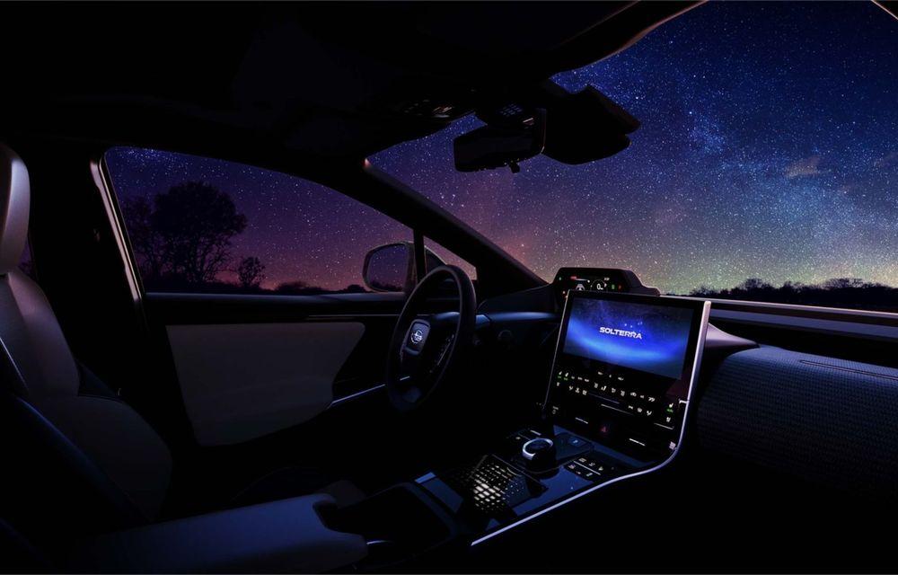Imagini teaser cu viitorul Subaru Solterra, primul model electric al companiei - Poza 4