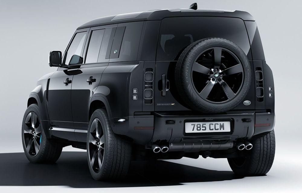 Land Rover lansează noul Defender V8 Bond Edition. Producție limitată la 300 de exemplare - Poza 2