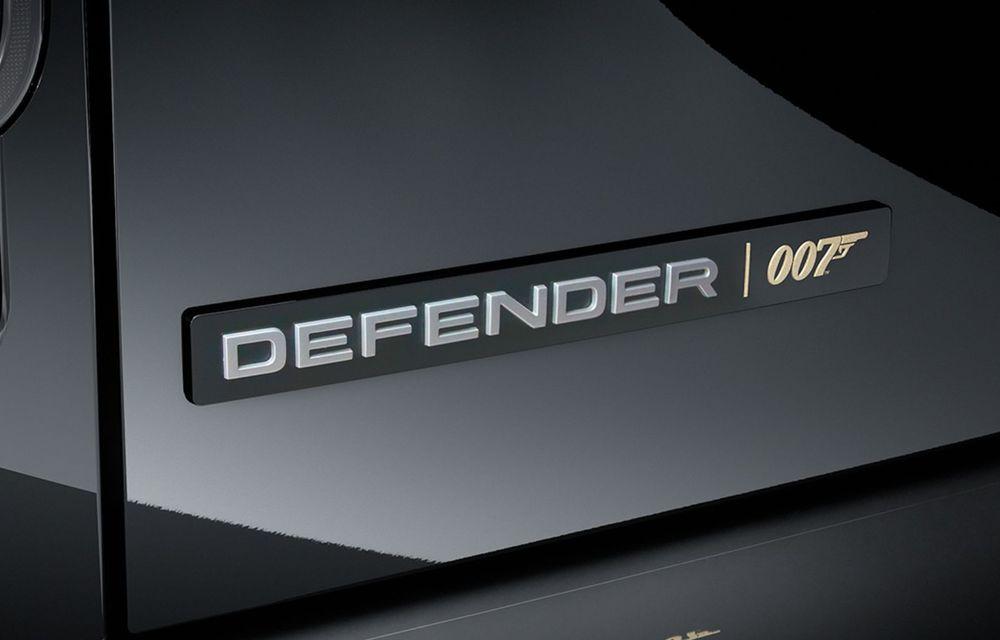 Land Rover lansează noul Defender V8 Bond Edition. Producție limitată la 300 de exemplare - Poza 9
