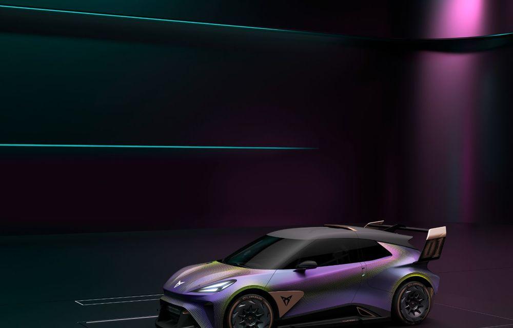 Cupra prezintă conceptul electric UrbanRebel: 0-100 km/h în 3.2 secunde - Poza 4