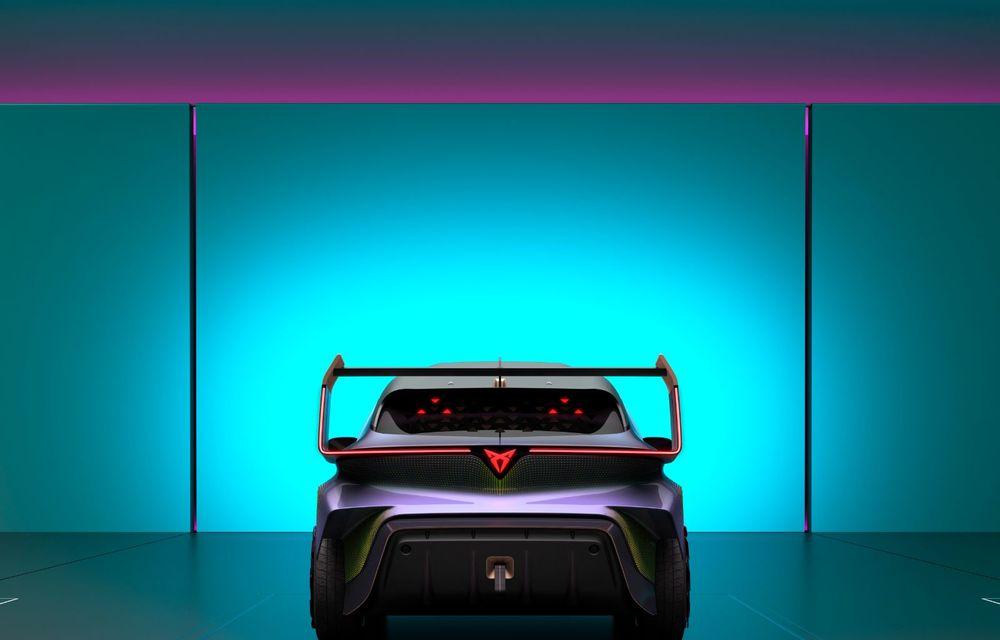 Cupra prezintă conceptul electric UrbanRebel: 0-100 km/h în 3.2 secunde - Poza 8