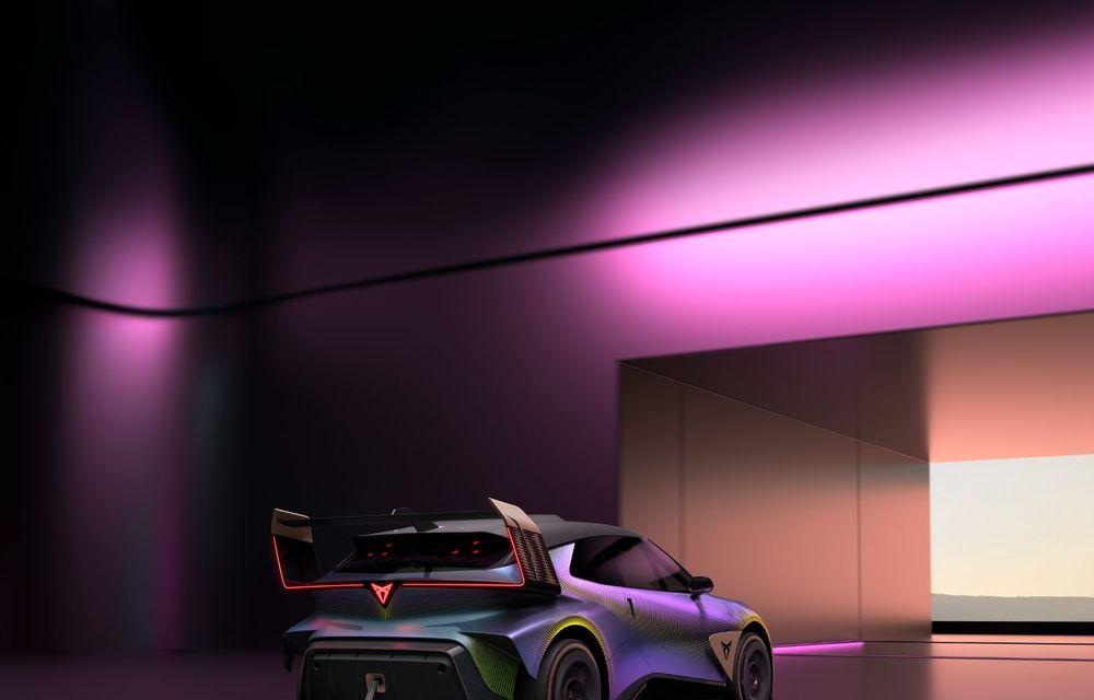 Cupra prezintă conceptul electric UrbanRebel: 0-100 km/h în 3.2 secunde - Poza 10
