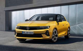 Opel Astra va primi versiune 100% electrică în 2023