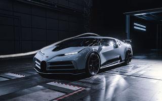 Bugatti Centodieci a fost testat cu brio în tunelul aerodinamic. Vor exista doar 10 exemplare