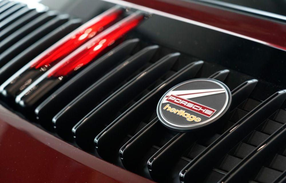 Galeria Țiriac Collection s-a îmbogățit cu o nouă mașină specială: Porsche 911 Targa 4S Heritage Design - Poza 8
