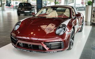 Galeria Țiriac Collection s-a îmbogățit cu o nouă mașină specială: Porsche 911 Targa 4S Heritage Design