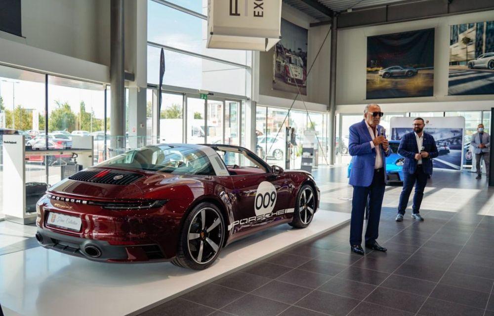 Galeria Țiriac Collection s-a îmbogățit cu o nouă mașină specială: Porsche 911 Targa 4S Heritage Design - Poza 3