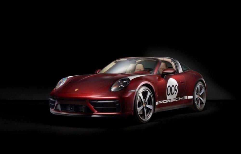 Galeria Țiriac Collection s-a îmbogățit cu o nouă mașină specială: Porsche 911 Targa 4S Heritage Design - Poza 2