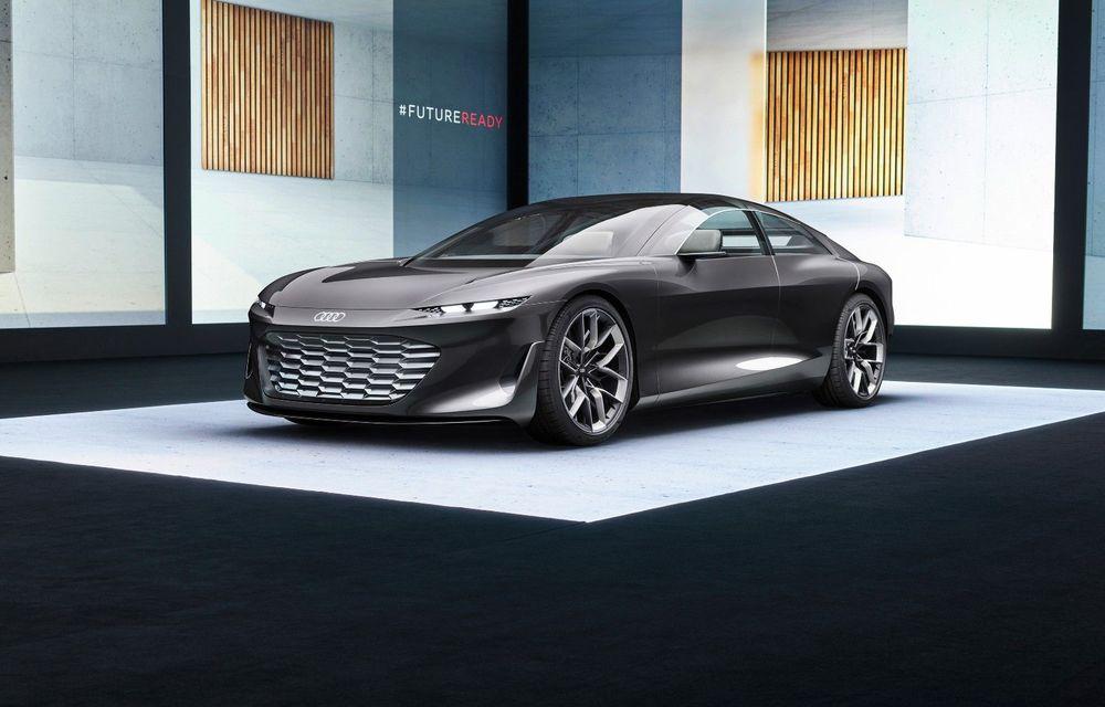 Audi Grandsphere Concept: autonomie de peste 750 de kilometri și încărcare ultrarapidă la 270 kW - Poza 1