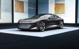 Audi Grandsphere Concept: autonomie de peste 750 de kilometri și încărcare ultrarapidă la 270 kW