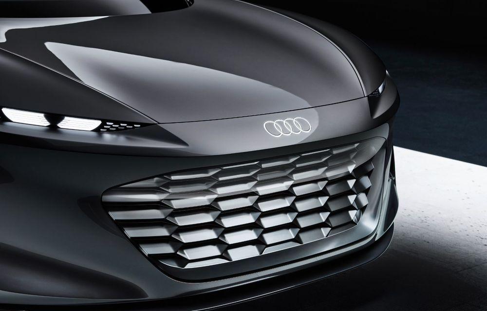Audi Grandsphere Concept: autonomie de peste 750 de kilometri și încărcare ultrarapidă la 270 kW - Poza 3