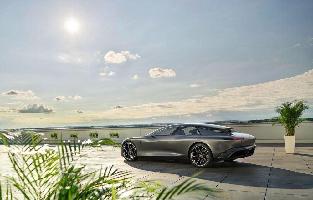 Audi Grandsphere Concept: autonomie de peste 750 de kilometri și încărcare ultrarapidă la 270 kW - Poza 13