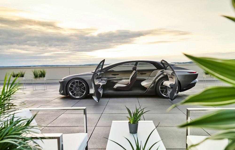 Audi Grandsphere Concept: autonomie de peste 750 de kilometri și încărcare ultrarapidă la 270 kW - Poza 17