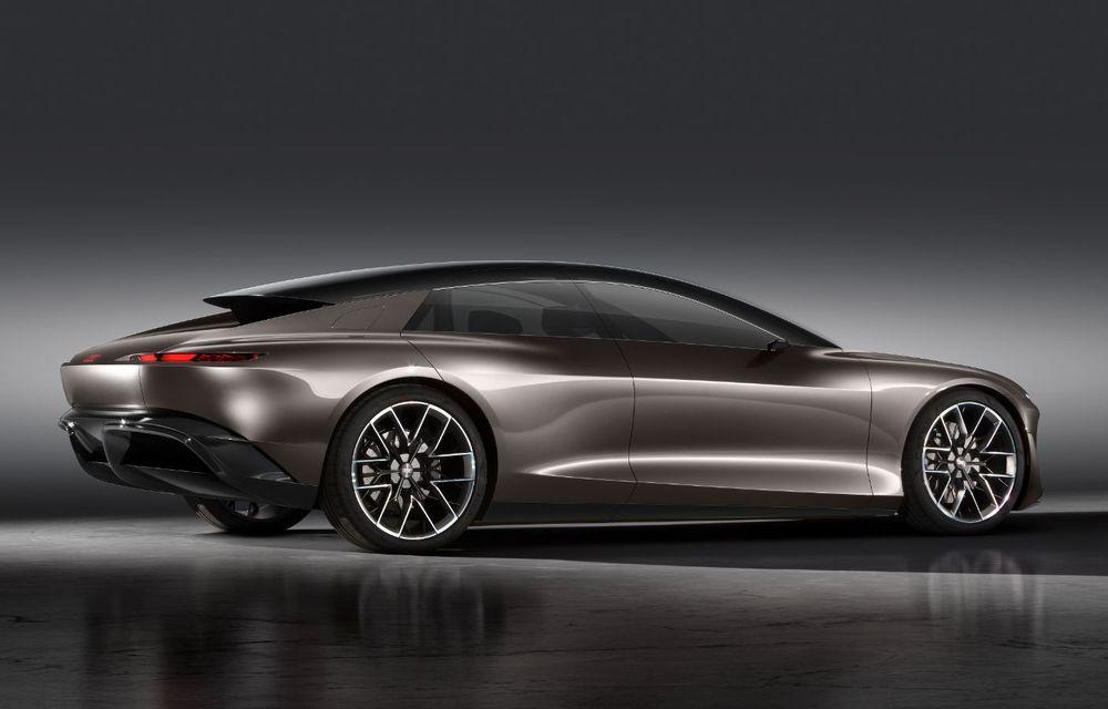 Audi Grandsphere Concept: autonomie de peste 750 de kilometri și încărcare ultrarapidă la 270 kW - Poza 26