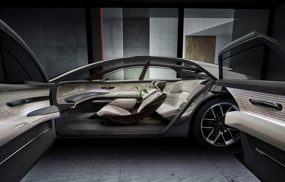 Audi Grandsphere Concept: autonomie de peste 750 de kilometri și încărcare ultrarapidă la 270 kW - Poza 33