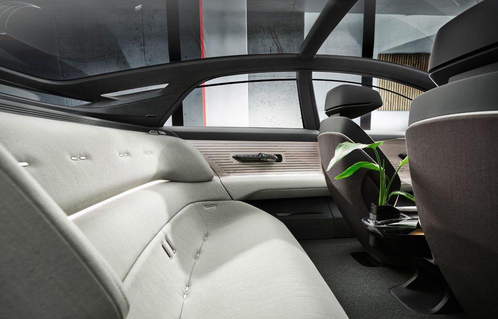 Audi Grandsphere Concept: autonomie de peste 750 de kilometri și încărcare ultrarapidă la 270 kW - Poza 7