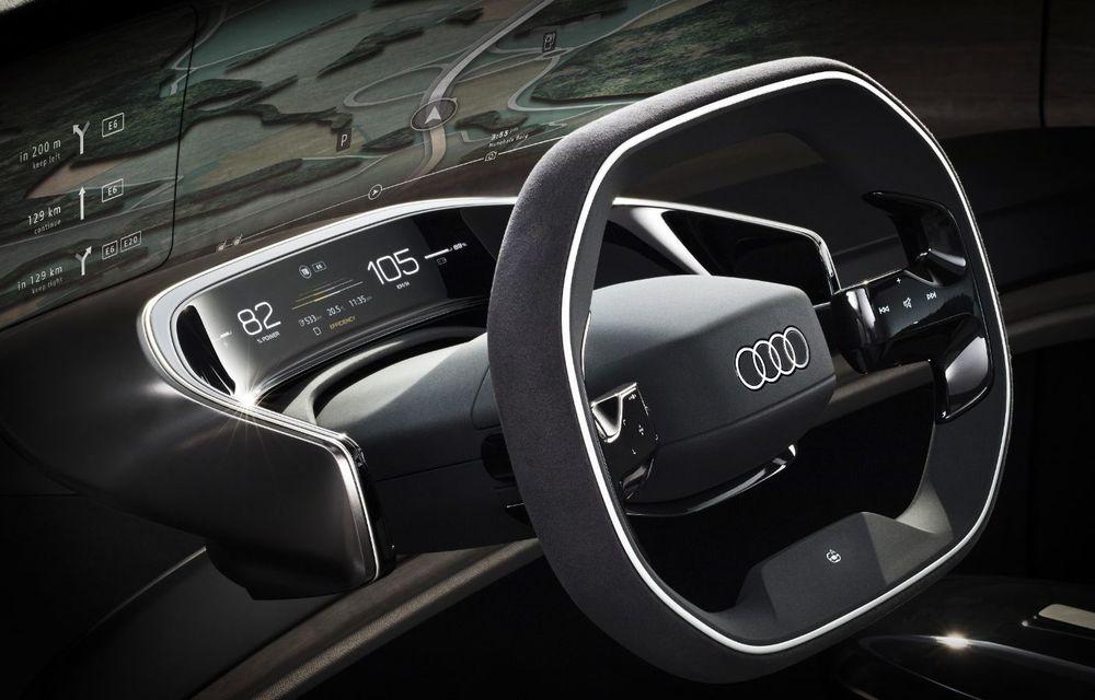 Audi Grandsphere Concept: autonomie de peste 750 de kilometri și încărcare ultrarapidă la 270 kW - Poza 8