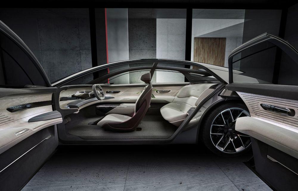 Audi Grandsphere Concept: autonomie de peste 750 de kilometri și încărcare ultrarapidă la 270 kW - Poza 9