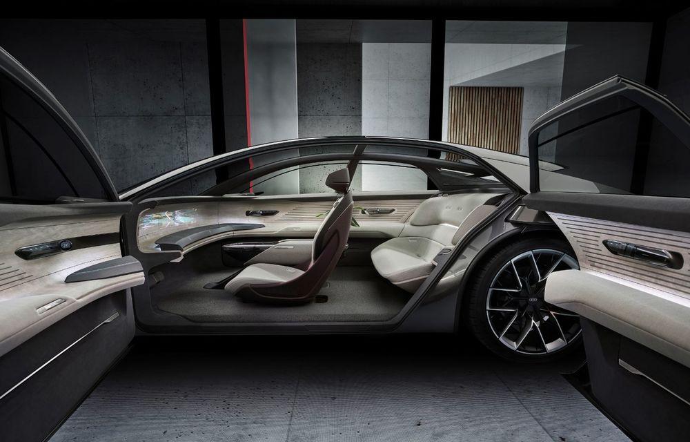 Audi Grandsphere Concept: autonomie de peste 750 de kilometri și încărcare ultrarapidă la 270 kW - Poza 10