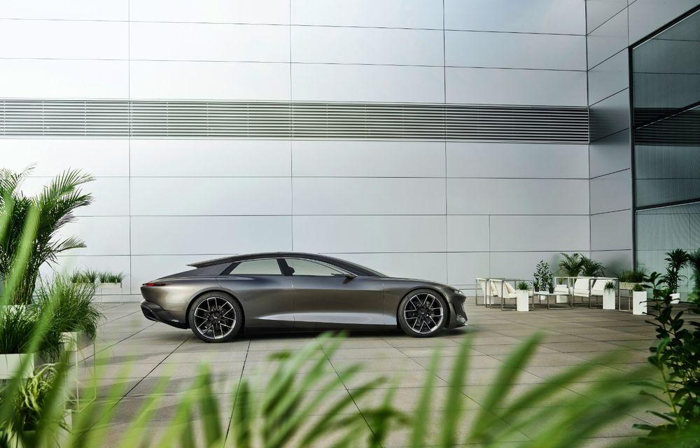 Audi Grandsphere Concept: autonomie de peste 750 de kilometri și încărcare ultrarapidă la 270 kW - Poza 12