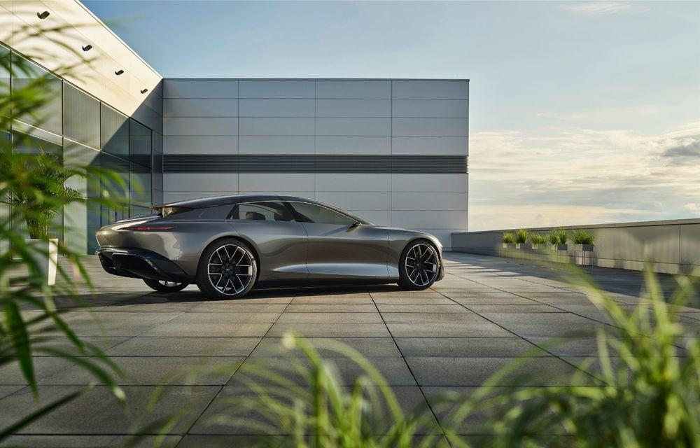 Audi Grandsphere Concept: autonomie de peste 750 de kilometri și încărcare ultrarapidă la 270 kW - Poza 14