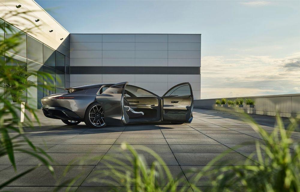 Audi Grandsphere Concept: autonomie de peste 750 de kilometri și încărcare ultrarapidă la 270 kW - Poza 15