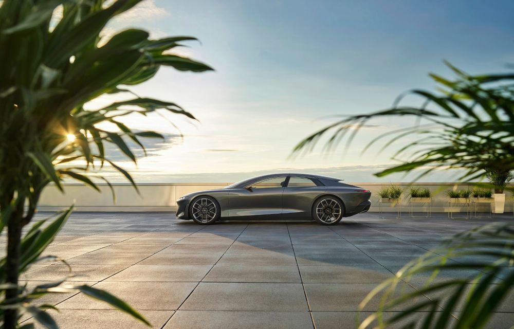Audi Grandsphere Concept: autonomie de peste 750 de kilometri și încărcare ultrarapidă la 270 kW - Poza 16