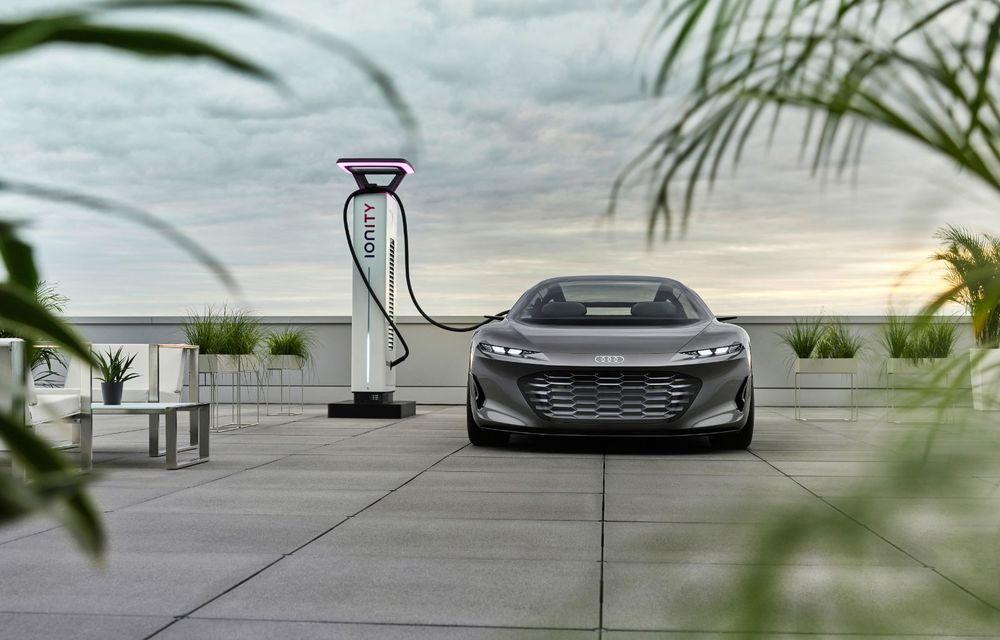 Audi Grandsphere Concept: autonomie de peste 750 de kilometri și încărcare ultrarapidă la 270 kW - Poza 18