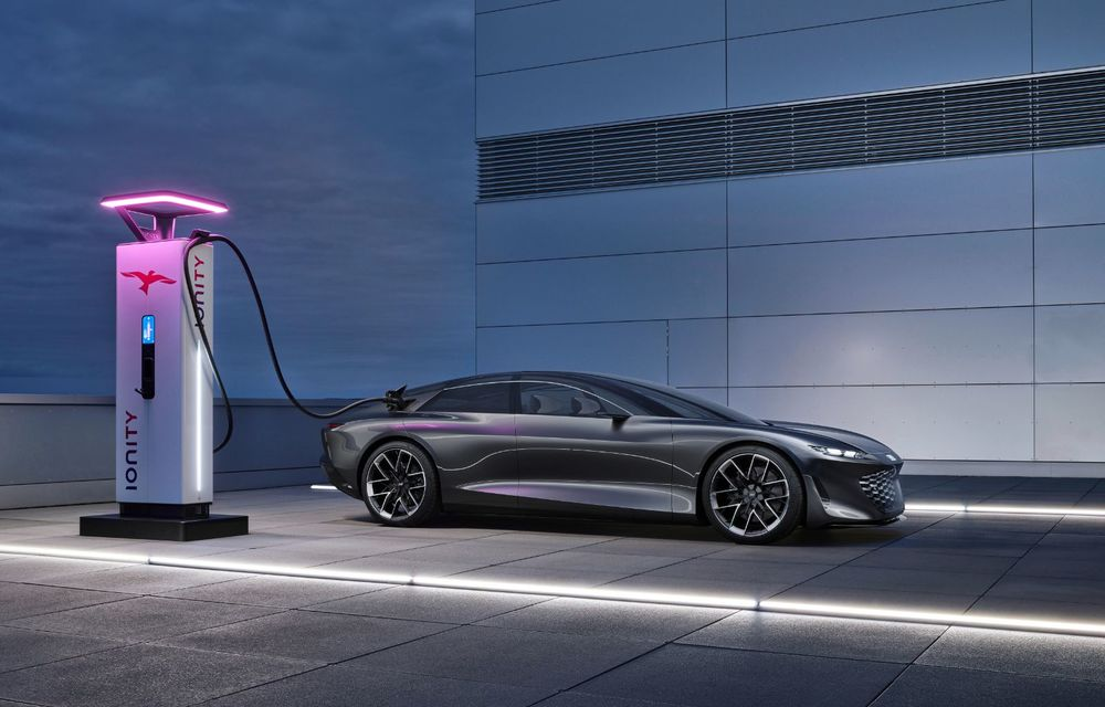 Audi Grandsphere Concept: autonomie de peste 750 de kilometri și încărcare ultrarapidă la 270 kW - Poza 19