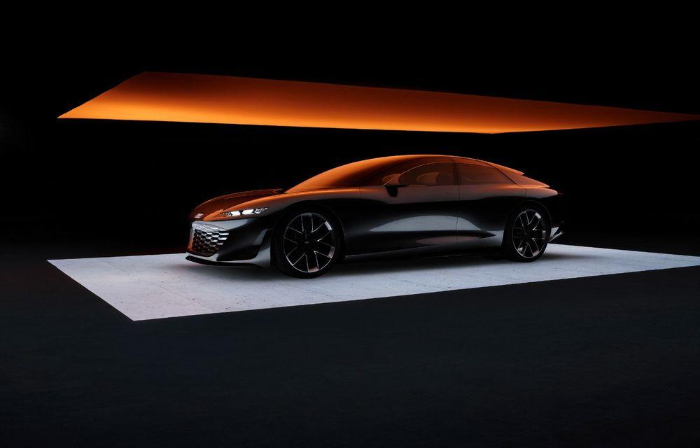 Audi Grandsphere Concept: autonomie de peste 750 de kilometri și încărcare ultrarapidă la 270 kW - Poza 20