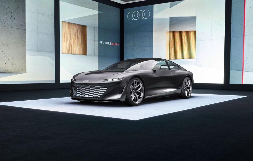 Audi Grandsphere Concept: autonomie de peste 750 de kilometri și încărcare ultrarapidă la 270 kW - Poza 21