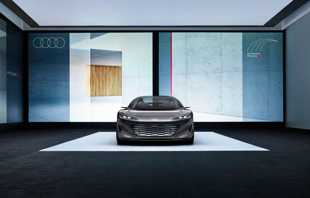 Audi Grandsphere Concept: autonomie de peste 750 de kilometri și încărcare ultrarapidă la 270 kW - Poza 22