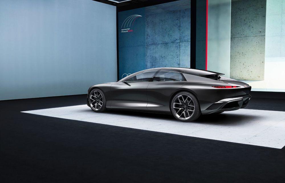 Audi Grandsphere Concept: autonomie de peste 750 de kilometri și încărcare ultrarapidă la 270 kW - Poza 23