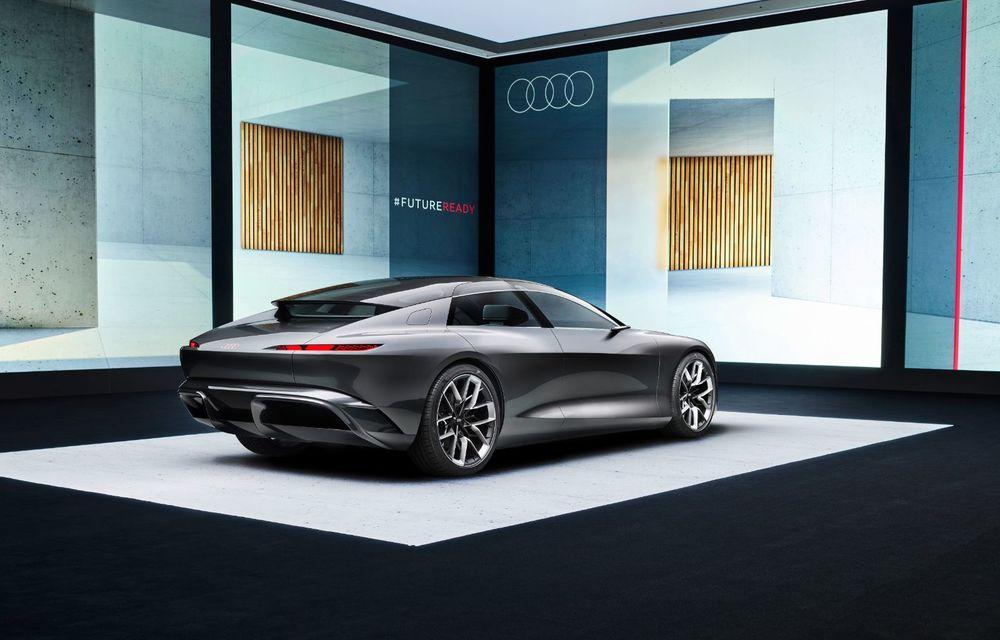 Audi Grandsphere Concept: autonomie de peste 750 de kilometri și încărcare ultrarapidă la 270 kW - Poza 24