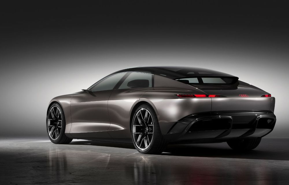 Audi Grandsphere Concept: autonomie de peste 750 de kilometri și încărcare ultrarapidă la 270 kW - Poza 25