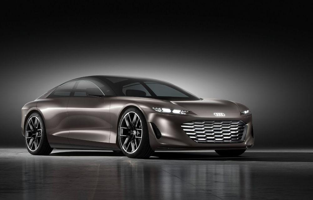 Audi Grandsphere Concept: autonomie de peste 750 de kilometri și încărcare ultrarapidă la 270 kW - Poza 27