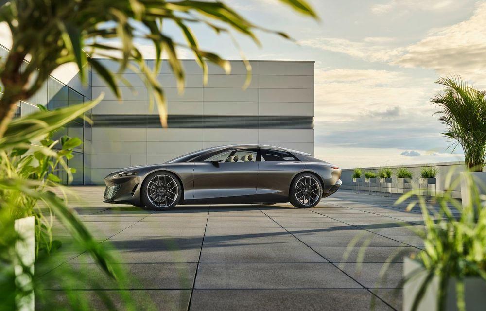 Audi Grandsphere Concept: autonomie de peste 750 de kilometri și încărcare ultrarapidă la 270 kW - Poza 28