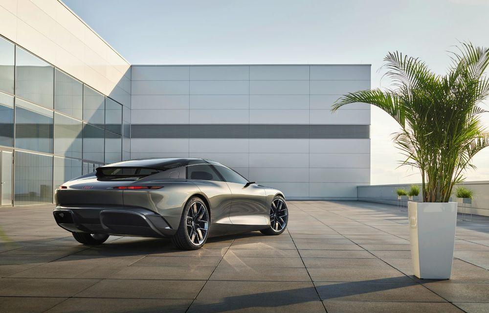 Audi Grandsphere Concept: autonomie de peste 750 de kilometri și încărcare ultrarapidă la 270 kW - Poza 29