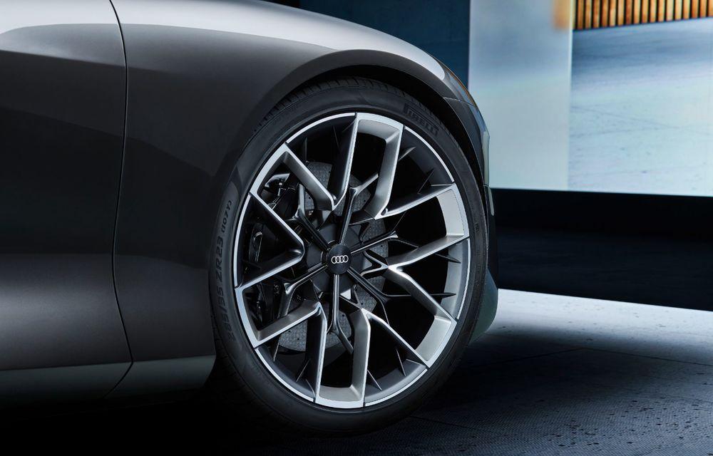 Audi Grandsphere Concept: autonomie de peste 750 de kilometri și încărcare ultrarapidă la 270 kW - Poza 31